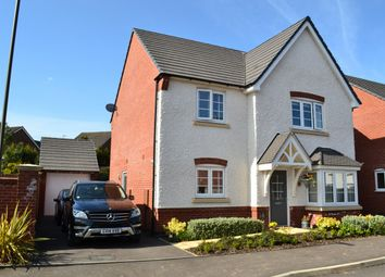 Thumbnail 4 bed detached house for sale in Saxon Close, Ashbourne, Derbyshire