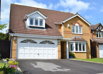 Thumbnail 4 bed detached house for sale in Withybed Way, Thatcham