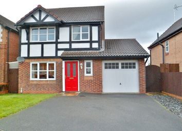 Thumbnail 3 bed detached house for sale in Tegid Drive, New Broughton, Wrexham