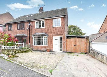 Thumbnail 3 bed semi-detached house for sale in Hawkins Drive, Ambergate, Belper