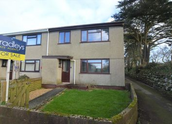 Thumbnail 3 bed end terrace house for sale in Trelawney Road, Helston, Cornwall