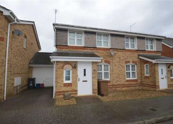 Thumbnail 3 bed terraced house to rent in Epsom Close, Stevenage