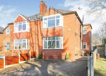 Thumbnail 3 bed semi-detached house for sale in Ashton Street, Woodley, Stockport, Cheshire