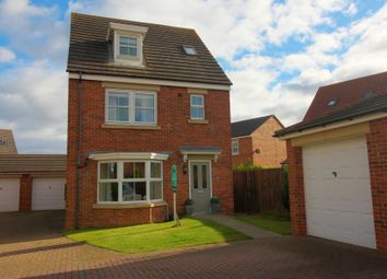 Thumbnail 4 bed detached house for sale in Meadow Vale, Shiremoor, Newcastle Upon Tyne