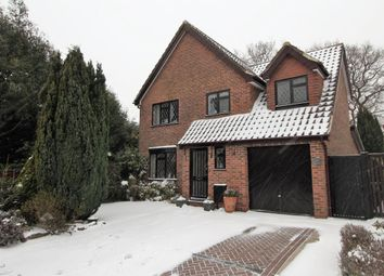 Thumbnail 4 bed detached house for sale in Pevensey Way, Frimley