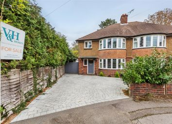 Thumbnail 3 bed semi-detached house for sale in Digdens Rise, Epsom