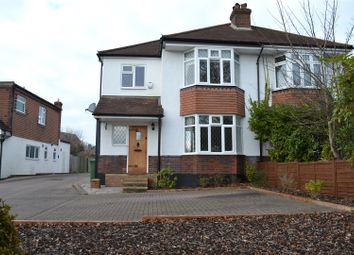 Thumbnail 3 bed semi-detached house for sale in Railway Cottages, Brighton Road, Banstead
