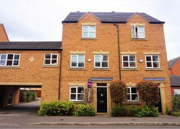 Thumbnail 3 bed town house for sale in Coral Close, Derby