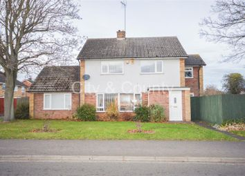 Thumbnail 4 bed detached house for sale in Kirby Walk, Netherton, Peterborough