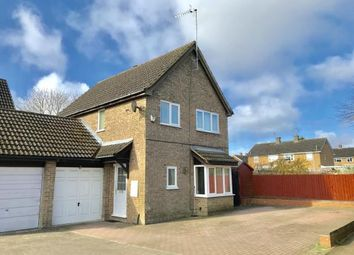 Thumbnail 4 bed link-detached house for sale in Bull Baulk, Middleton Cheney, Banbury, Northamptonshire