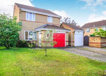 Thumbnail 3 bed detached house for sale in Wensleydale Close, Grantham