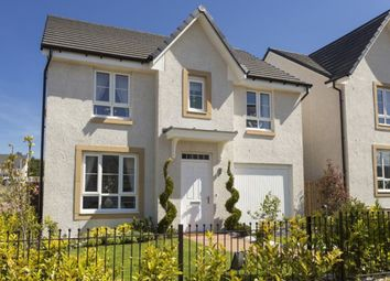 Thumbnail 3 bed detached house for sale in Barratt Homes Buchanan Gardens, Kirkton North, Livingston, West Lothian