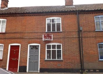 Thumbnail 2 bedroom terraced house for sale in Wymondham, Norwich, Norfolk