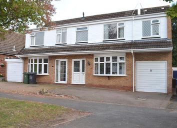 Thumbnail 5 bed semi-detached house for sale in Tamworth Close, Shepshed, Loughborough