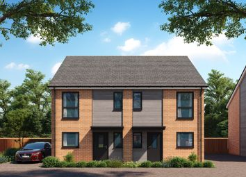 Thumbnail 2 bed semi-detached house for sale in Bluntisham Road, Needingworth, St. Ives, Huntingdon
