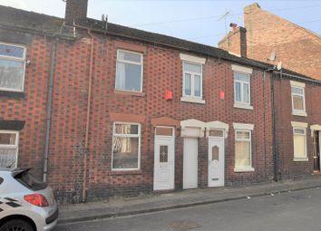 Thumbnail 2 bed terraced house for sale in Benson Street, Stoke-On-Trent
