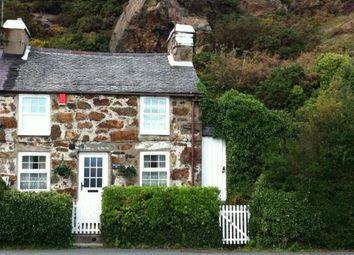 Thumbnail 3 bed end terrace house for sale in Abererch Road, Pwllheli, Gwynedd