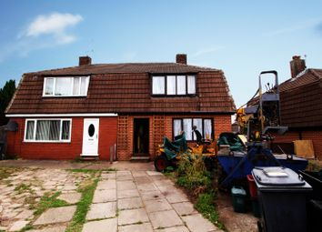 Thumbnail 3 bed semi-detached house for sale in Chestnut Grove, Newcastle, Staffordshire