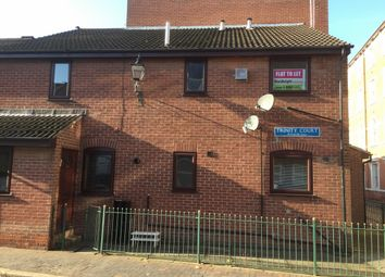 Thumbnail 1 bedroom flat to rent in Trinity Court, Hull