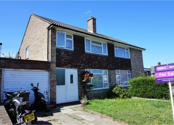 Thumbnail 3 bed semi-detached house for sale in Verbena Way, Hedge End