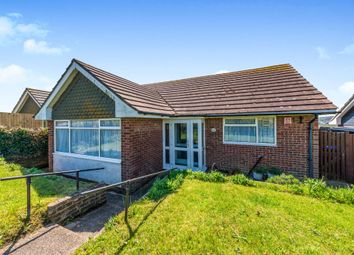 Thumbnail 2 bed detached bungalow for sale in Antony Close, Bishopstone, Seaford