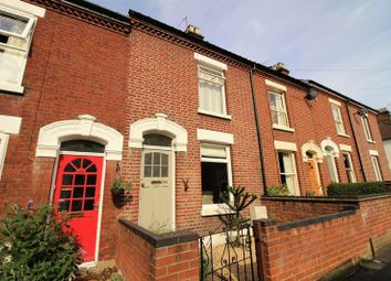 Thumbnail 3 bedroom terraced house for sale in Glebe Road, Norwich