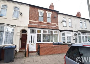 Thumbnail 3 bed terraced house for sale in Newcombe Road, Birmingham, West Midlands