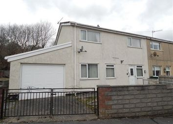 Thumbnail 2 bed end terrace house for sale in Penrhiw Estate, Brynhithel, Abertillery