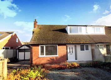 Thumbnail 3 bed semi-detached bungalow for sale in Hill View Road, Garstang, Preston