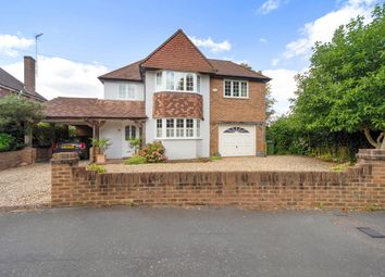 Thumbnail 4 bed detached house for sale in Daneswood Close, Weybridge