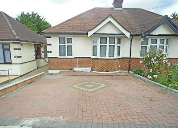 Thumbnail 2 bed semi-detached bungalow for sale in Amesbury Drive, London