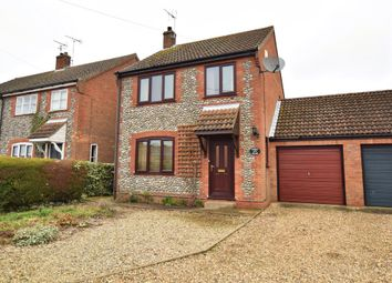 Thumbnail 3 bedroom link-detached house to rent in The Street, Baconsthorpe, Holt