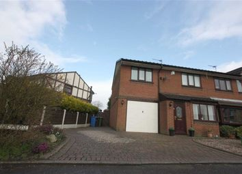Thumbnail 3 bed semi-detached house for sale in Brent Close, Bradley Fold, Bolton