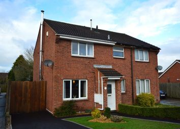 Thumbnail 2 bed semi-detached house for sale in Beverston Road, Perton, Wolverhampton