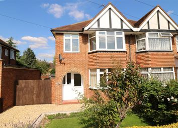 Thumbnail 3 bed semi-detached house to rent in Strathmore Avenue, Hitchin