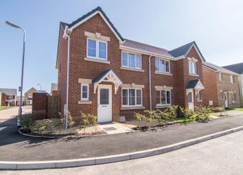 Thumbnail 3 bed semi-detached house for sale in Windsor Castle Road, Newport