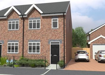 Thumbnail 3 bed town house for sale in Peel Street, Tipton