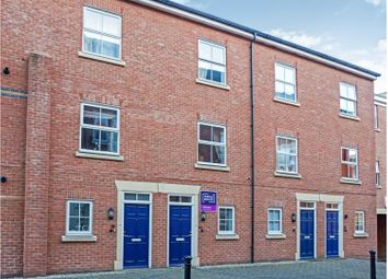 Thumbnail 3 bedroom town house for sale in Armstrong Drive, Diglis, Worcester