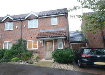 Thumbnail 2 bed terraced house to rent in Scobell Close, Shinfield, Reading