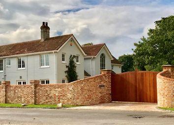 Thumbnail 6 bed detached house for sale in Lower Pennington Lane, Pennington, Lymington, Hampshire