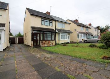 Thumbnail 3 bed semi-detached house for sale in Lucknow Road, Willenhall