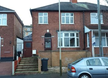 Thumbnail 3 bed semi-detached house to rent in Mayflower Road, Evington, Leicester