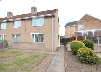 Thumbnail 3 bed semi-detached house for sale in Lansbury Avenue, New Rossington, Doncaster