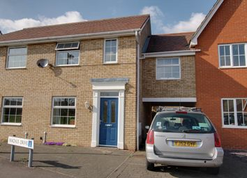 Thumbnail 3 bed terraced house for sale in Magnus Drive, Colchester