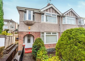 Thumbnail 4 bed semi-detached house for sale in Fredington Grove, Plymouth