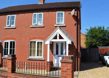 Thumbnail 2 bed semi-detached house to rent in Falcon Way, Sleaford