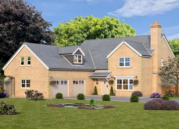 Thumbnail 4 bedroom detached house for sale in Plot 1, The Grosvenor, Bingley Road, Menston, Leeds