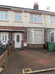 Thumbnail 3 bedroom terraced house to rent in Corinthian Avenue, Grimsby