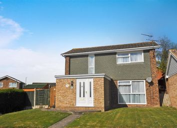 Thumbnail 3 bed detached house for sale in Halford Close, Herne Bay, Kent
