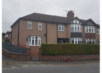 Thumbnail 4 bed semi-detached house for sale in The Avenue, Basford Newcastle-Under-Lyme